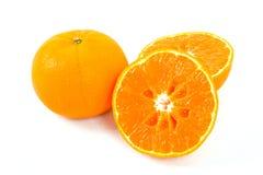 Свежий апельсин Стоковое Изображение