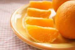 Свежий апельсин Стоковые Фотографии RF
