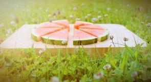 свежий арбуз Стоковые Фото