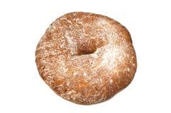 Свежий белый изолированный хлеб Стоковое Изображение RF