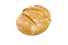 Свежий белый изолированный хлеб Стоковые Изображения RF