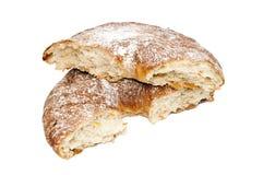 Свежий белый изолированный хлеб Стоковые Фото