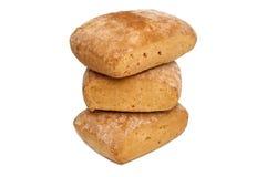Свежий белый изолированный хлеб Стоковое Фото