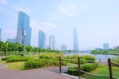 Свежий взгляд на общественном парке Стоковое Изображение RF