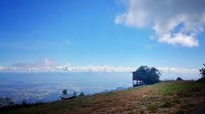 Свежий воздух на горе Стоковое Фото