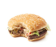 Свежий гамбургер Стоковые Изображения