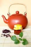 свежий горячий чай Стоковая Фотография RF