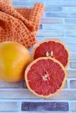 Свежий грейпфрут Стоковые Фотографии RF
