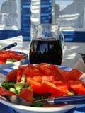 свежий греческий салат Стоковое фото RF