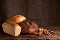 Свежий домодельный хлеб crisp Хлеб на активизирует Пресный хлеб диетический хлеб стоковая фотография