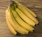 Свежий естественный пук банана стоковое изображение