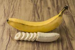 Свежий естественный пук банана стоковое фото rf