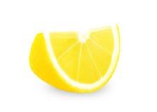 свежий желтый цвет ломтика лимона Стоковое Фото