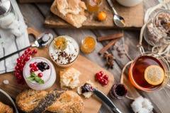 Свежий завтрак Стоковые Фото