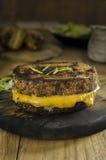 Свежий зажаренный сандвич сыра Стоковое Изображение