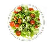 Свежий зеленый салат для здоровой еды Стоковые Фото