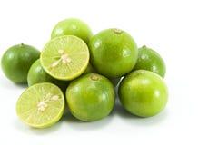 Свежий зеленый цвет известки Стоковые Фото