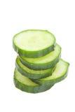 Свежий зеленый кусок огурца Стоковое Изображение RF