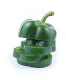 свежий зеленый перец Стоковая Фотография