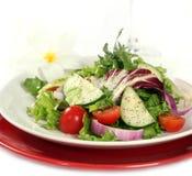 свежий здоровый салат Стоковое Изображение RF