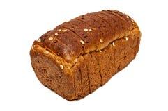 Свежий изолированный хлеб, отрезанный хлеб Стоковые Изображения