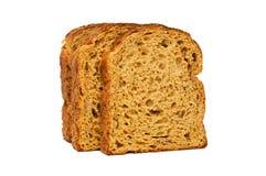 Свежий изолированный хлеб Стоковые Фотографии RF