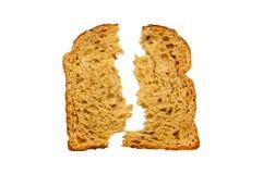 Свежий изолированный хлеб Стоковая Фотография RF
