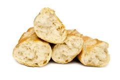 Свежий изолированный хлеб Стоковые Изображения