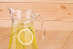 свежий лимонад Стоковая Фотография