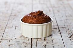 Свежий испеченный browny торт Стоковые Изображения RF