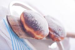 Свежий и вкусный берлинец торт Стоковое Изображение