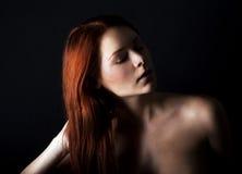 Свежий и молодая женщина Стоковая Фотография RF