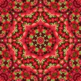 Свежий калейдоскоп картины конспекта клубники бесплатная иллюстрация