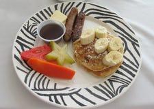 Свежий карибский завтрак Стоковое Фото