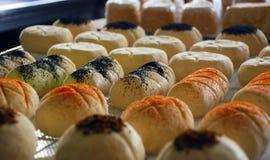 Свежий козий сыр с специями Итальянское ручной работы Стоковое Фото
