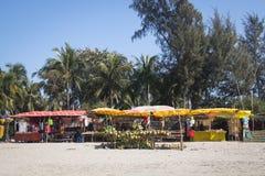 Свежий кокос глохнет на ` s St Martin, Бангладеше Стоковые Изображения