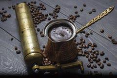 Свежий кофе Стоковая Фотография