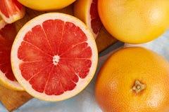 свежий красный цвет грейпфрута Стоковое Фото