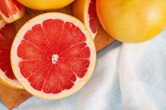 свежий красный цвет грейпфрута Стоковые Фотографии RF