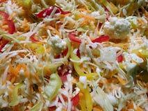 Свежий красочный vegetable салат Стоковое Фото