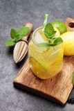 Свежий лимонад лета стоковое фото rf