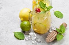 Свежий лимонад лета стоковое фото
