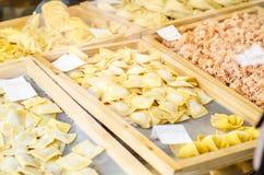 Свежий магазин макаронных изделий Стоковая Фотография RF