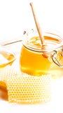 свежий мед стоковая фотография