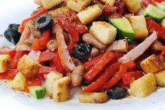 свежий мексиканский салат вкусный Стоковые Изображения