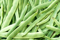 Свежий овощ зеленых фасолей здоровый стоковое фото rf
