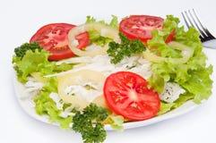 свежий овощ лета салата Стоковая Фотография