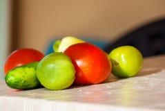 Свежий овощ на таблице Стоковое Фото