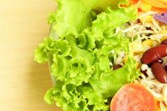свежий овощ смешанного салата Стоковое Фото