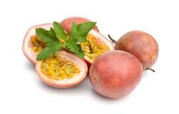 свежий ломтик passionfruit Стоковое Изображение RF